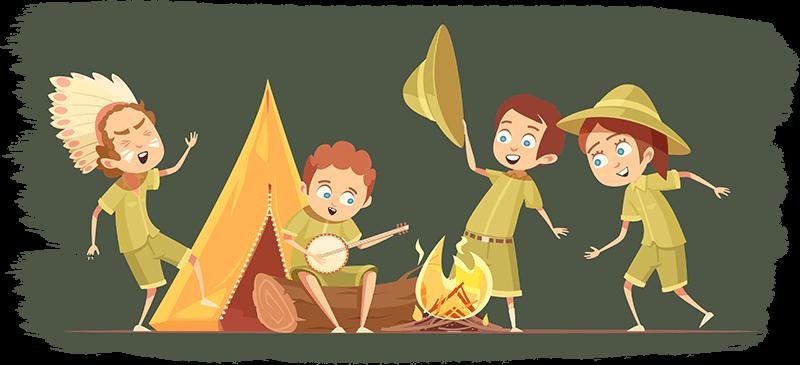 Campamento Centros educativos